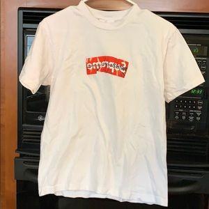 Supreme CDG box logo shirt